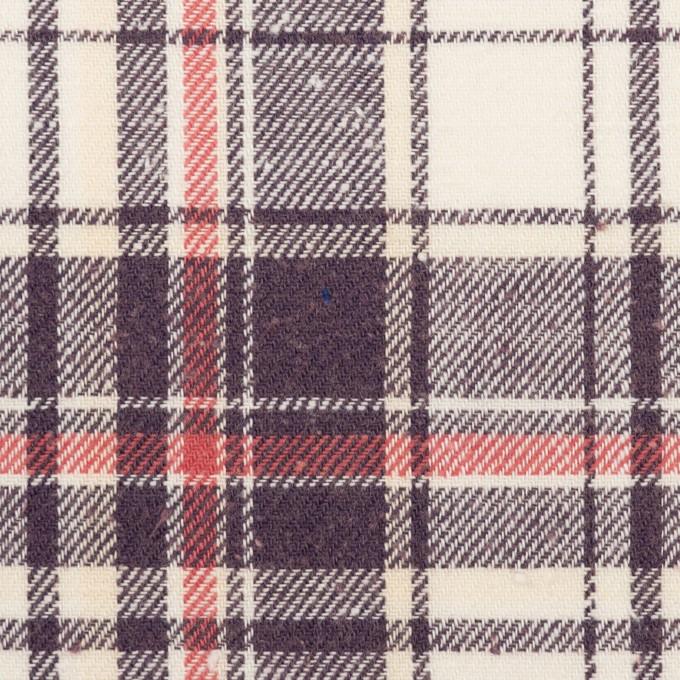 コットン×チェック(グレープ&チェリー)×ビエラ イメージ1