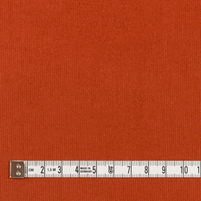 コットン×無地(オレンジブリック)×細コーデュロイ イメージ4