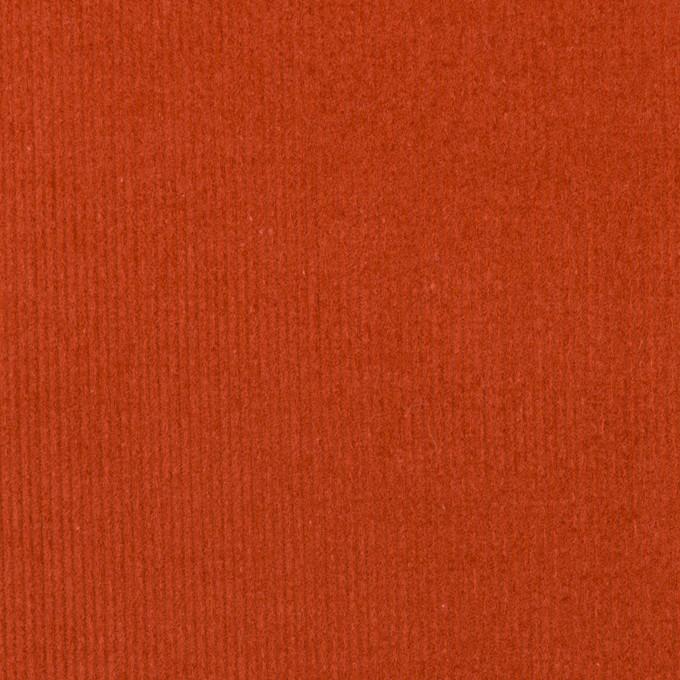 コットン×無地(オレンジブリック)×細コーデュロイ イメージ1
