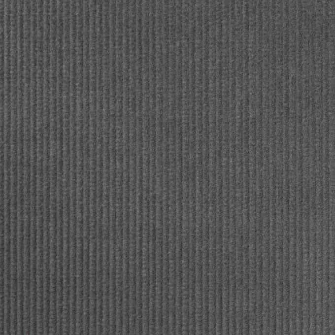 コットン×無地(スチールグレー)×中細コーデュロイ イメージ1