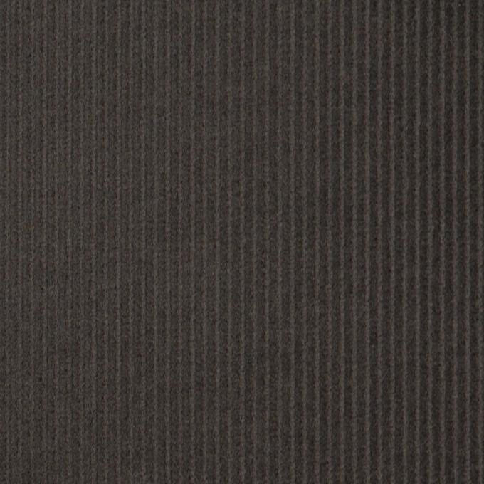 コットン×無地(チャコールグレー)×中細コーデュロイ イメージ1