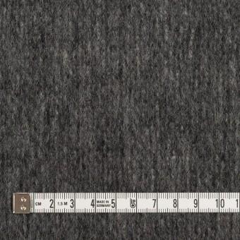ウール&ナイロン×無地(チャコールグレー)×ツイード サムネイル4