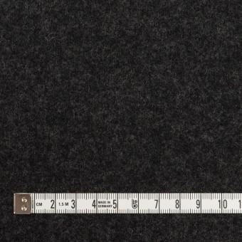 ウール×無地(チャコール)×圧縮ニット サムネイル4