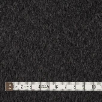 ウール×無地(チャコール)×ビーバー サムネイル4
