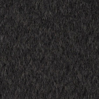 ウール×無地(チャコール)×ビーバー