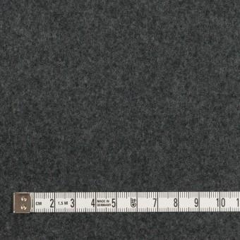ウール×無地(チャコールグレー&ブラック)×Wフェイスフラノ(フランネル) サムネイル4