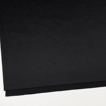 カシミア&ウール×無地(ブラック)×ビーバー サムネイル2