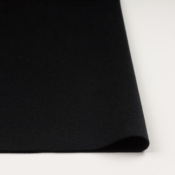 カシミア&ウール×無地(ブラック)×ビーバー イメージ3