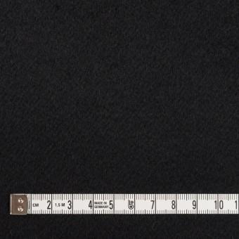 カシミア&ウール×無地(ブラック)×ビーバー サムネイル4