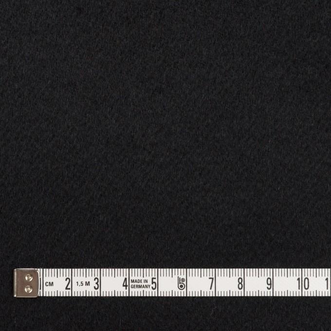 カシミア&ウール×無地(ブラック)×ビーバー イメージ4