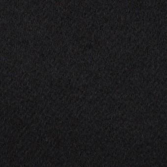 【60cmカット】カシミア&ウール×無地(ブラック)×ビーバー