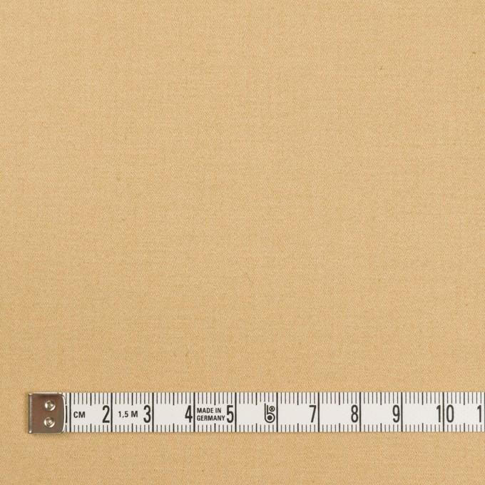 コットン&リネン混×無地(シャンパンゴールド)×サテンストレッチ_全4色 イメージ4