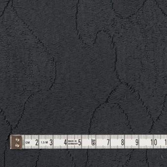 コットン&ナイロン×幾何学模様(チャコール)×ジャガードニット_全2色 サムネイル4