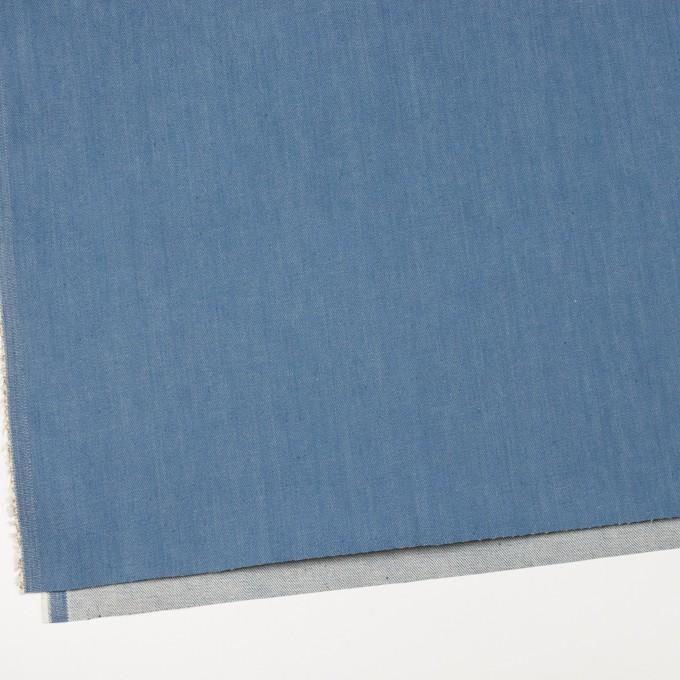 コットン&ポリウレタン×無地(サックスブルー)×デニムストレッチ(10.5oz) イメージ2