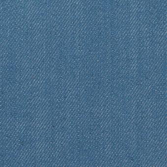 コットン&ポリウレタン×無地(サックスブルー)×デニムストレッチ(10.5oz) サムネイル1