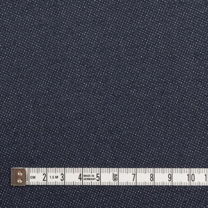 コットン&ポリウレタン×無地(インディゴ)×デニムストレッチ(10.5oz) イメージ4