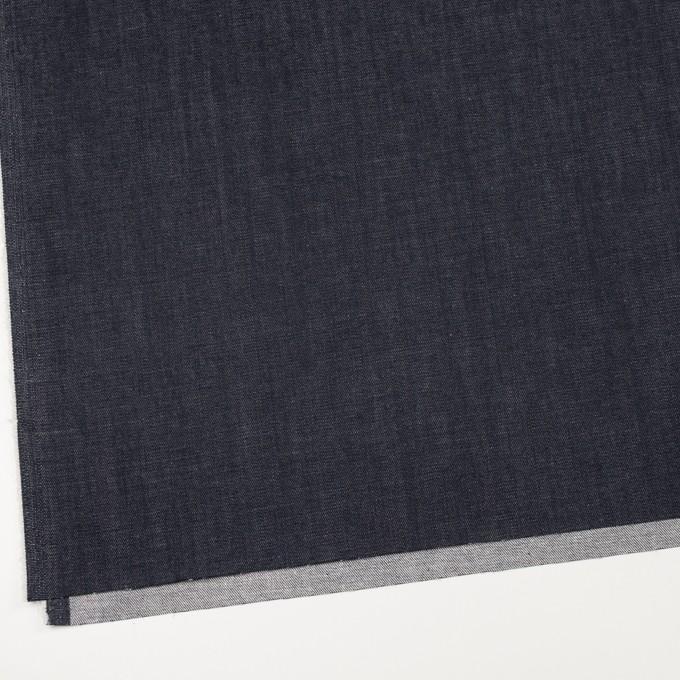 コットン&ポリウレタン×無地(インディゴ)×デニムストレッチ(10oz) イメージ2