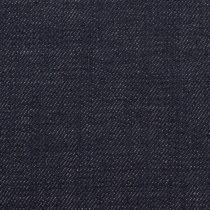 コットン&ポリウレタン×無地(インディゴ)×デニムストレッチ(10oz) イメージ1