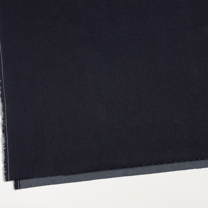 コットン&ポリウレタン×無地(インディゴ)×デニムストレッチ(11.5oz) イメージ2