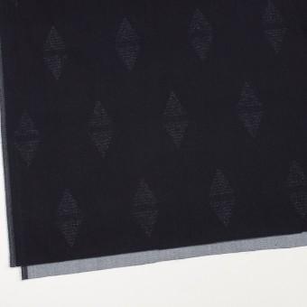 コットン&ポリエステル混×無地(インディゴ)×デニムジャガード・ストレッチ(9.5oz) サムネイル2
