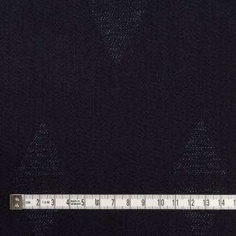 コットン&ポリエステル混×無地(インディゴ)×デニムジャガード・ストレッチ(9.5oz) サムネイル4