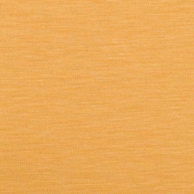 レーヨン&コットン混×無地(マリーゴールド)×スムースニット_全6色 イメージ1