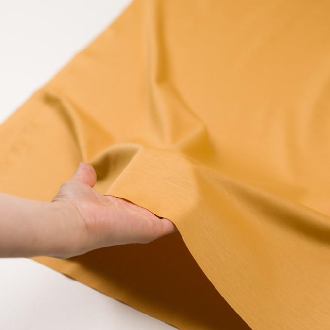 レーヨン&コットン混×無地(マリーゴールド)×スムースニット_全6色 イメージ5