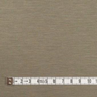 レーヨン&コットン混×無地(アッシュカーキ)×スムースニット_全6色 サムネイル4