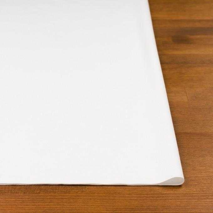 レーヨン&コットン混×無地(オフホワイト)×スムースニット_全6色 イメージ3