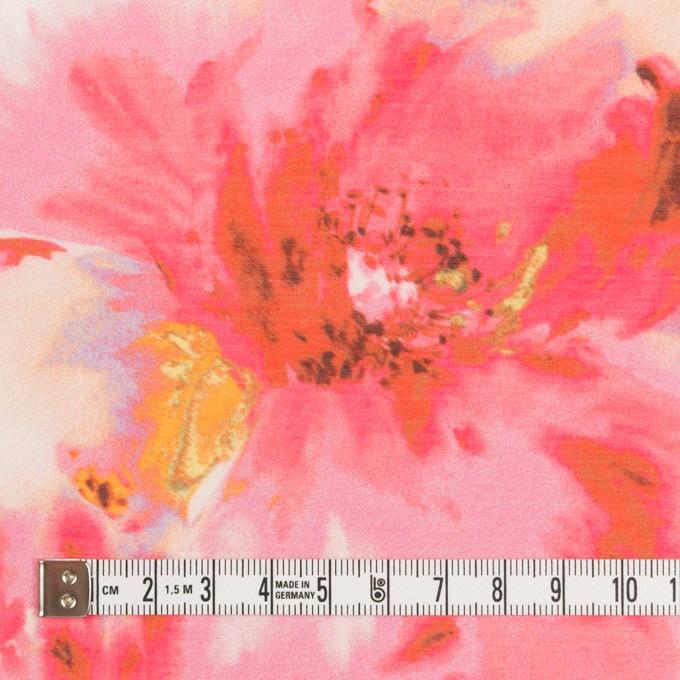 ポリエステル×フラワー(チェリー)×ソフトオーガンジー_全4色 イメージ4