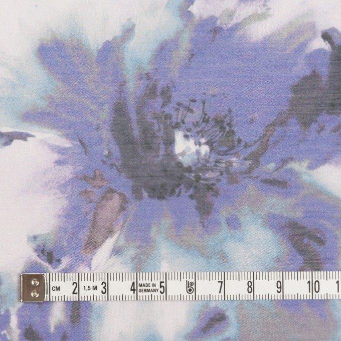 ポリエステル×フラワー(パープル)×ソフトオーガンジー_全4色 イメージ4