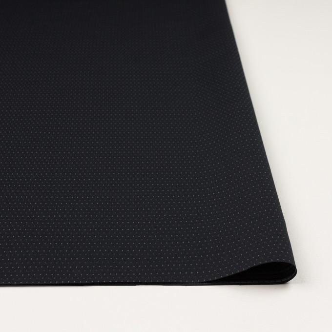 コットン×ドット(ブラック)×ブロードドビー イメージ3