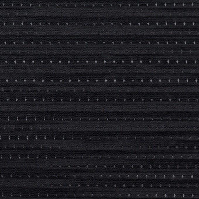 コットン×ドット(ブラック)×ブロードドビー イメージ1