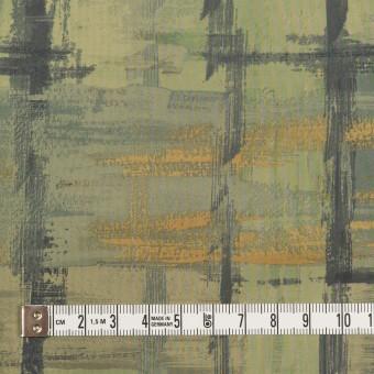 ポリエステル×ペイント(カーキグリーン)×タフタ_全3色 サムネイル4