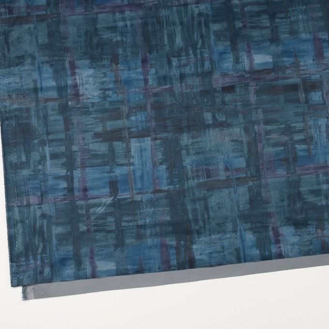ポリエステル×ペイント(ブルー)×タフタ_全3色 イメージ2