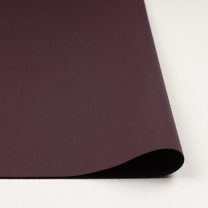 ナイロン&ポリウレタン×無地(レーズン&ブラック)×ファイユストレッチ(ボンディング) イメージ3