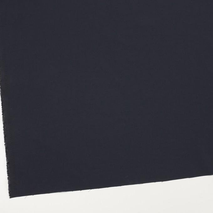 ナイロン&ポリウレタン×無地(ダークネイビー)×ファイユストレッチ_全3色 イメージ2