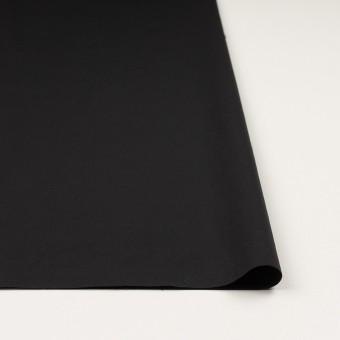 ナイロン&ポリウレタン×無地(ブラック)×ファイユストレッチ_全3色 サムネイル3