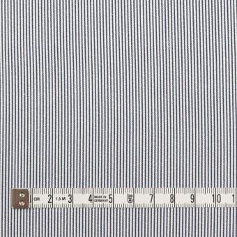 コットン×ストライプ(ホワイト&ブルー)×コードレーン_全2色 サムネイル4