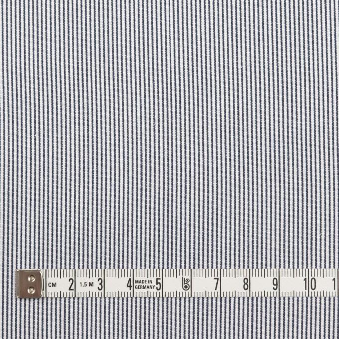 コットン×ストライプ(ホワイト&ブルー)×コードレーン_全2色 イメージ4