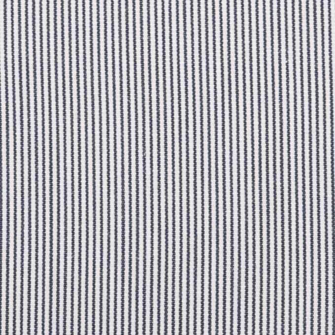 コットン×ストライプ(ホワイト&ブルー)×コードレーン_全2色 イメージ1