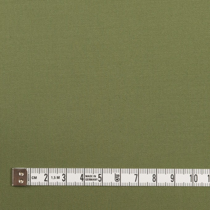 コットン&ポリウレタン×無地(フォレストグリーン)×サージストレッチ イメージ4