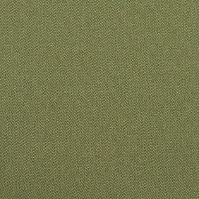 コットン&ポリウレタン×無地(フォレストグリーン)×サージストレッチ イメージ1