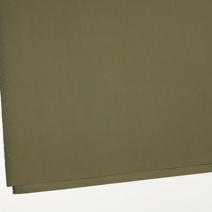 コットン×無地(カーキグリーン)×ポプリン イメージ2