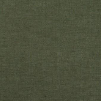 コットン×無地(モスグリーン)×ボイル