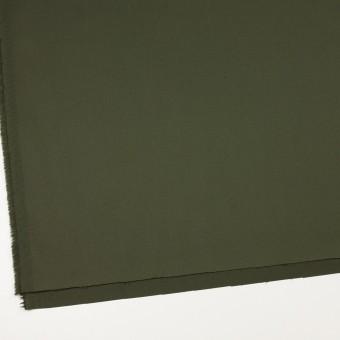 コットン&ポリウレタン×無地(ディープグリーン)×サテンストレッチ サムネイル2