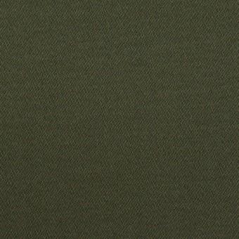 コットン&ポリウレタン×無地(ディープグリーン)×サテンストレッチ