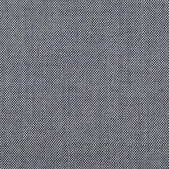 コットン×無地(ネイビー)×オックスフォード_全2色