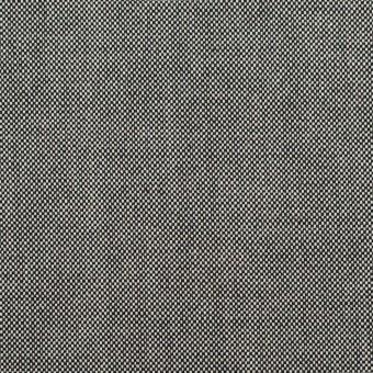 コットン×無地(ブラック)×オックスフォード_全2色
