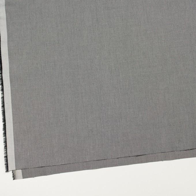 コットン×無地(グレー)×サージ_イタリア製 イメージ2